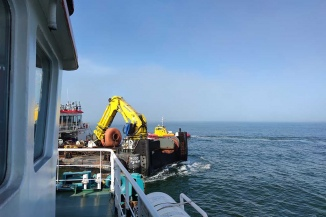 Putting the pipeline with our multipurpose crane vessel BALTIC WORKER